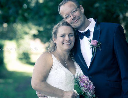 Katrine og Leifs bryllup