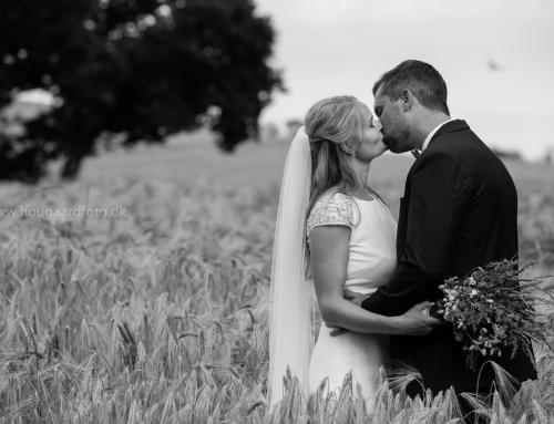 Camilla og Jacobs bryllup
